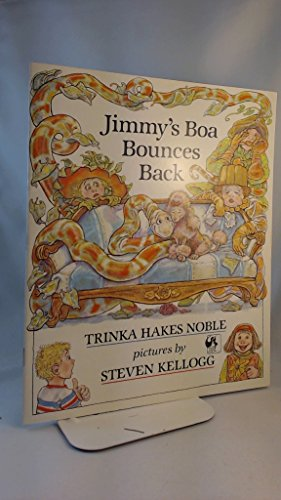 9780590704458: Jimmy's Boa Bounces Back (Picture Hippo)