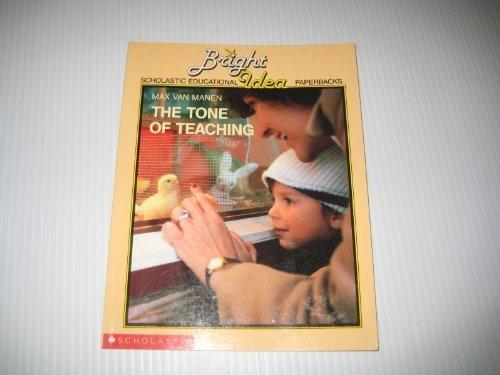 9780590716314: The Tone of Teaching