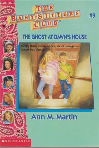 9780590723886: The Ghost at Dawn's House (An Apple Paperback)
