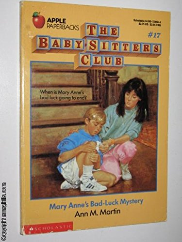 9780590724586: The Baby-Sitters Club #17 Mary Anne's Bad-Luck Mystery