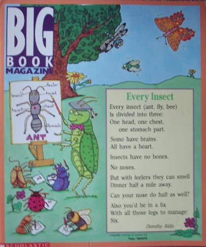 Big Book Magazine Topic: Insects: Pearce, Mary