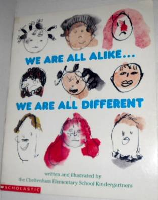 9780590727600: We Are All Alike...We Are All Different (Giant Read Along Book)