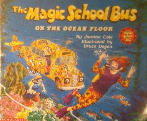 Magic School Bus On The Ocean Floor Big Book By Cole Joanna