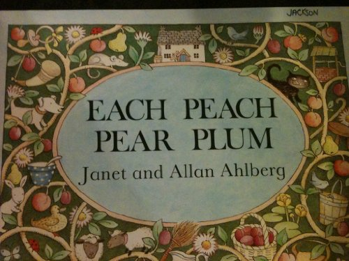 9780590733038: Each Peach Pear Plum (Scholastic BIG BOOKS)