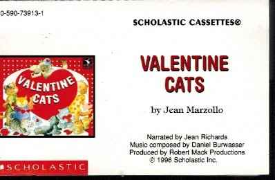 Valentine Cats (Audiocassette Tape) (9780590739139) by Jean Marzollo