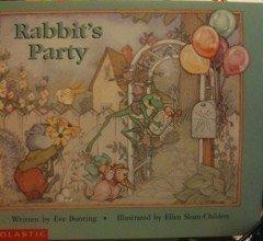 9780590739887: Rabbit's Party (Beginning Literacy)