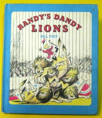 9780590757386: Randy's Dandy Lions