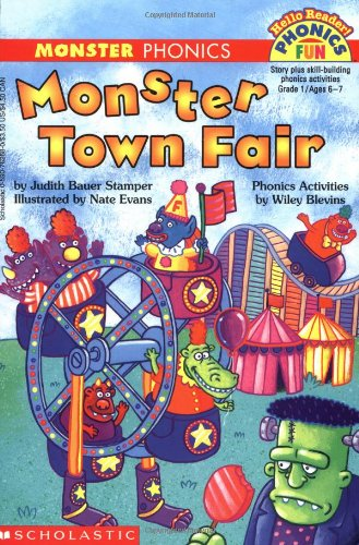 9780590762687: Monster Town Fair (Phonics Fun)