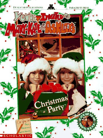9780590769587: You're Invited to Mary-Kate & Ashley's Christmas Party