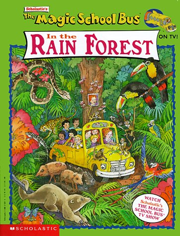 9780590818377: The Magic School Bus in the Rain Forest