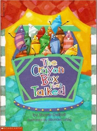 9780590819282: The Crayon Box That Talked