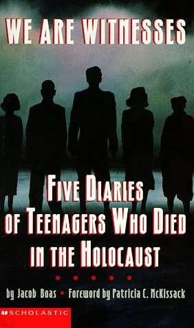 9780590844758: We Are Witnesses: Five Diaries Of Teenagers Who Died In The Holocaust
