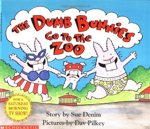 9780590847438: The Dumb Bunnies Go to the Zoo