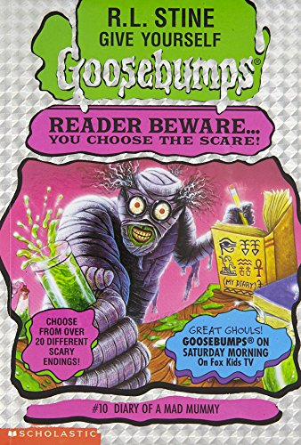 9780590847674: Diary of a Mad Mummy (Give Yourself Goosebumps #10)