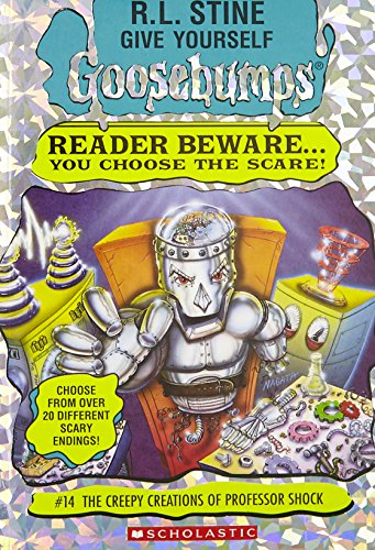 9780590847742: The Creepy Creations of Professor Shock (Give Yourself Goosebumps, No 14)