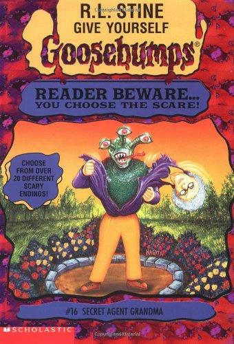 9780590847759: Secret Agent Grandma (Give Yourself Goosebumps)