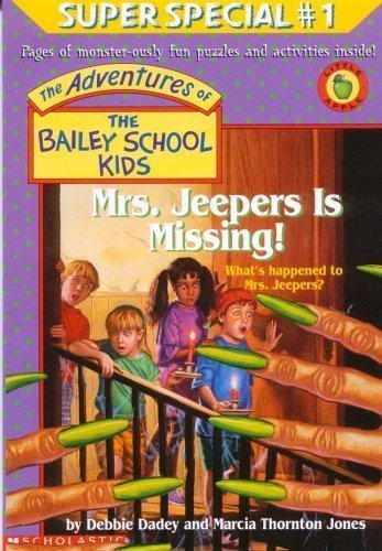 9780590848855: The Adventures of the Bailey School Kids , Mrs.Jeepers is Missing!
