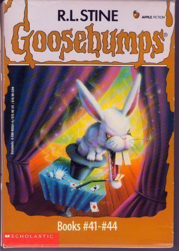 Goosebumps Boxed Set, Books 41 - 44: Bad Hare Day, Egg Monsters from Mars, The Beast from the East,...