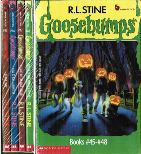 Goosebumps Boxed Set, Books 45-48: Ghost Camp, How to Kill a Monster, Legend of the Lost Legend, ...
