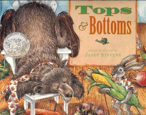9780590864961: Tops & Bottoms (Caldecott Honor Book)