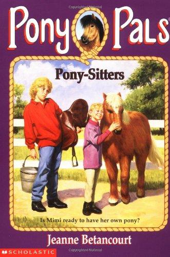 9780590866019: Pony-Sitters (Pony Pals)