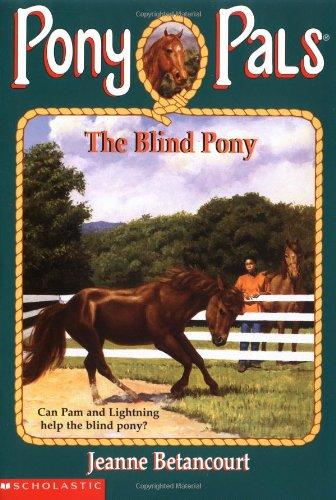 9780590866323: The Blind Pony (Pony Pals #15)