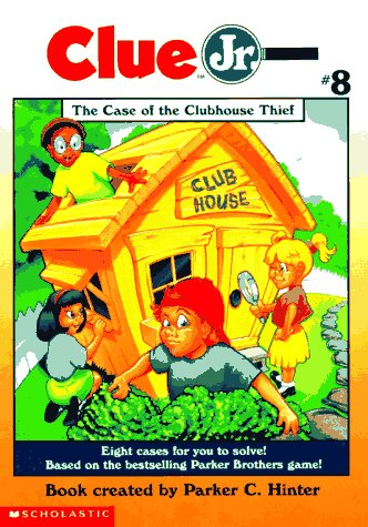 9780590866347: The Case of the Clubhouse Thief (Clue Jr. #8)