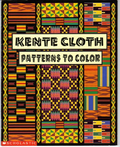 9780590880275: Kente cloth patterns to color
