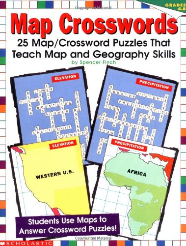 Map Crosswords Grades 48 by Spencer Finch S Finch Scholastic