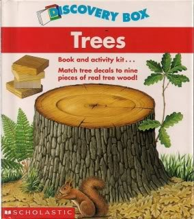 9780590896542: Trees (Discovery Box)