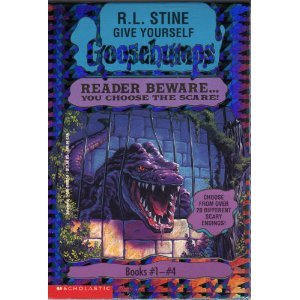 9780590898928: Give Yourself Goosebumps Boxed Set, Books 1 - 4: Escape from the Carnival of Horrors; Tick Tock, You're Dead!; Trapped in Bat Wing Hall; and The Deadly Experiments of Dr. Eeek