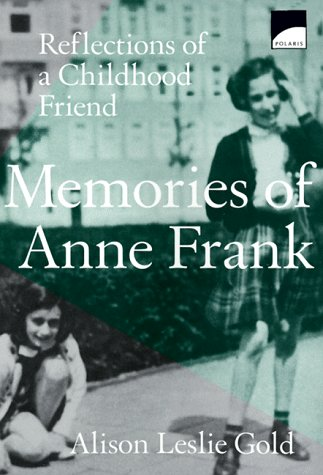 9780590907231: Memories of Anne Frank: Reflections of a Childhood Friend (Polaris Paperback)