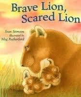 9780590909853: Brave Lion, Scared Lion
