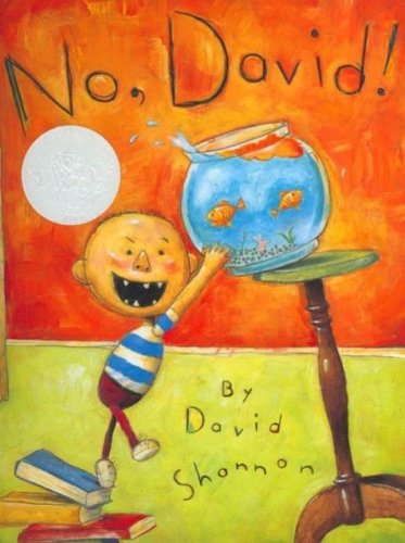 9780590930024: No, David! (Caldecott Honor Book)