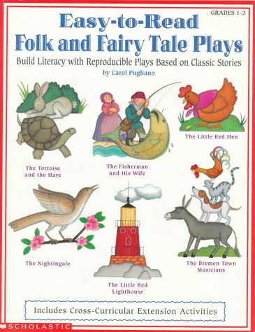 9780590930888: Easy-to-Read Folk and Fairy Tale Plays (Grades 1-3)