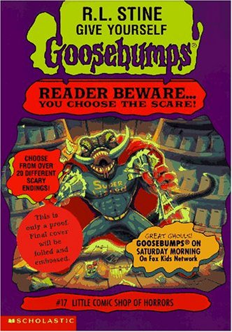 9780590934831: Little Comic Shop of Horrors (Give Yourself Goosebumps, Book 17)