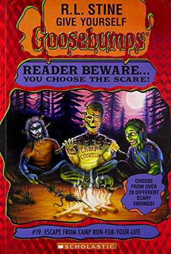 9780590934893: Escape from Camp Run-for-Your-Life (Give Yourself Goosebumps, No 19)