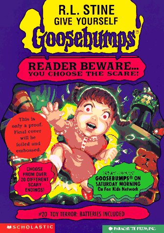 9780590934923: Toy Terror: Batteries Included (Give Yourself Goosebumps, No 20)
