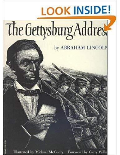 9780590937436: The Gettysburg address
