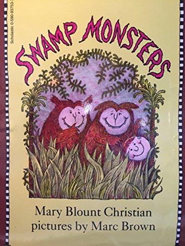 9780590937535: Swamp monsters