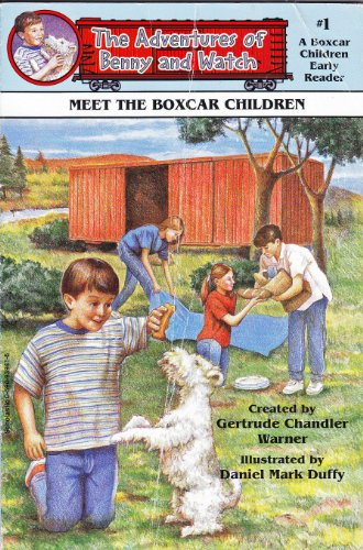 9780590939416: Meet the Boxcar Children (The adventures of Benny and Watch)