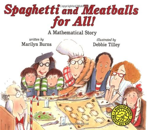 9780590944595: Spaghetti and Meatballs for All! (Marilyn Burns Brainy Day Books)