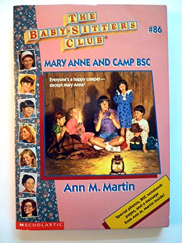9780590947855: Bsc # 86 Ce Mary Anne and Camp Bsc
