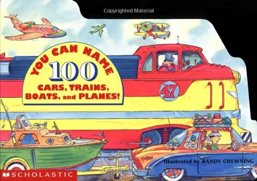 9780590962001: You Can Name 100 Cars, Trains, Boats And Planes