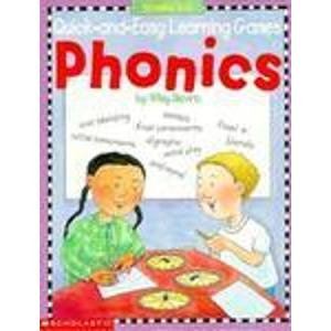 9780590963800: Phonics (Quick-And-Easy Learning Games Series)