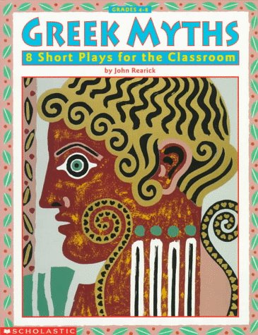 9780590963831: Greek Myths: 8 Short Plays for the Classroom