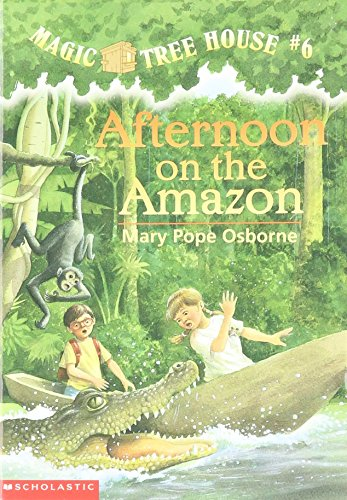 9780590965422: [( Afternoon on the Amazon )] [by: Mary Pope Osborne] [Aug-1995]