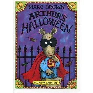 9780590980586: arthur's halloween [Taschenbuch] by brown, marc