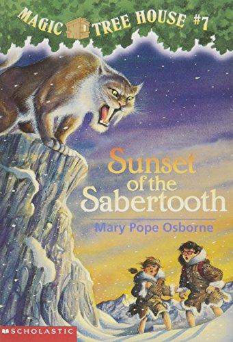 9780590988247: Sunset of the Sabertooth