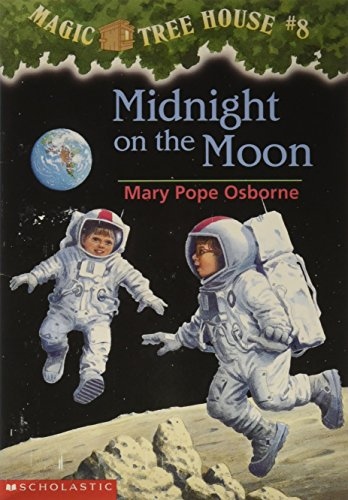 9780590988254: Magic tree House #8, midnight on The Moon